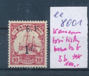 Kamerun  britisch besetzt  3b **  (ee8001  ) siehe scan