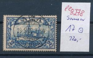 Samoa  Nr. 17 o    (ee9278  ) siehe scan