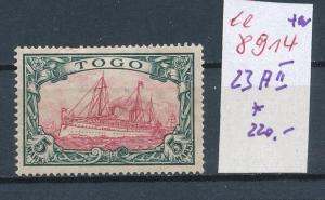 Togo  Nr. 23  *  (ee8914  ) siehe scan