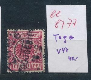 Togo  Nr. V 47   ....  (ee8777  ) siehe scan