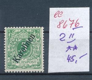 Karolinen  Nr. 2 II **  (ee8676  ) siehe scan