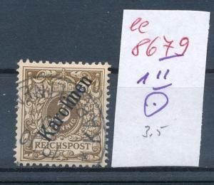 Karolinen  Nr. 1 II   o  (ee8679  ) siehe scan