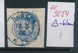 Preussen  Briefstück  blauer-o    (ee9554  ) siehe scan