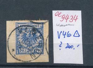 Kamerun  Nr.  V46  (ee9434  ) siehe scan