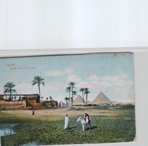 Egypt-old postcard...?    (ka6955  ) siehe scan