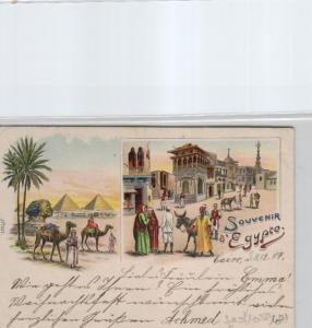 Egypt-old postcard...?    (ka6961  ) siehe scan