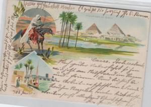 Egypt-old postcard...?    (ka6963  ) siehe scan
