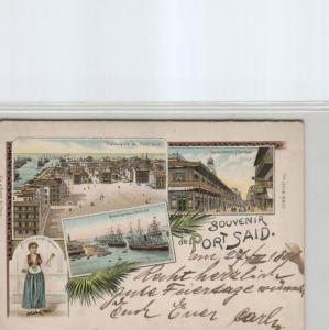 Egypt-old postcard...?    (ka6965  ) siehe scan