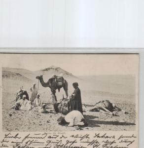 Egypt-old postcard...?    (ka6975  ) siehe scan