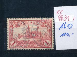 Marianen   Nr.  16 o  (ee9631  ) siehe scan