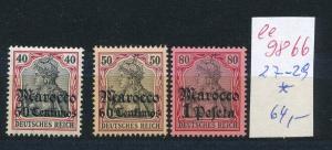 D.Post  Marokko   Nr. 27-29 *  (ee9866  ) siehe scan
