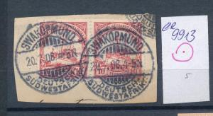 DSWA -Briefstück-STEMPEL   (ee9913  ) siehe scan