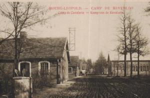 Bourg Leopold  -  alte Karte  (ka6021 ) siehe Bild vergrößert