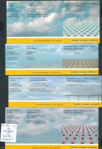 Schweiz  4 Hefte -selbstklend  o  (zu302 ) siehe scan