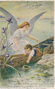 Engel...-Motiv -alte Karte     (ka7265  ) siehe scan