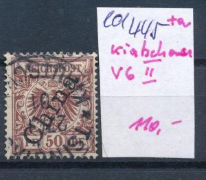 Kiatschao Nr. V6 II o     (ed445  ) siehe scan