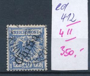 Kiatschao Nr. V 4 II     (ed412  ) siehe scan