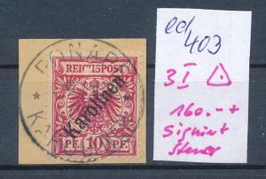 Karolinen  Nr.  3 I   (ed403 ) siehe scan