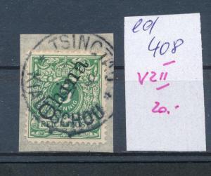 Kiatschao  Nr.  V 2 II    (ed408  ) siehe scan