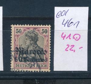D.-Post Marokko   Nr. 41   o   (ed461  ) siehe scan