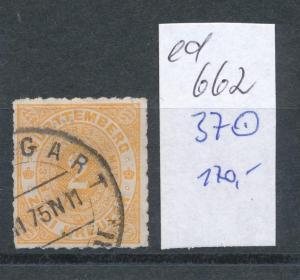 Würtemberg  Nr. 37  (ed662  ) siehe scan
