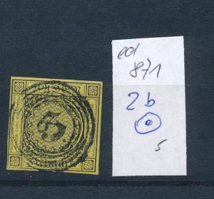 Baden Nr. 2b o         (ed 871  ) siehe scan