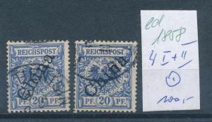 D.Post China  Nr. 4 I+II  o    (ed1858  ) siehe scan