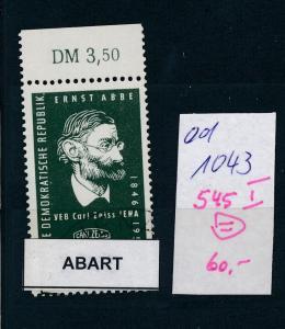 DDR Nr. 545 I      (ed1043  ) siehe scan