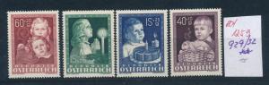 Österreich- Nr. 929-32 **   (ed1259  ) siehe scan vergrößert !