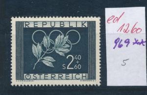 Österreich- Nr. 969  **   (ed1260  ) siehe scan vergrößert !
