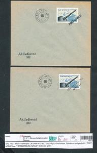 Schweiz Militär 2 Belege 1940  (zu334  ) siehe scan