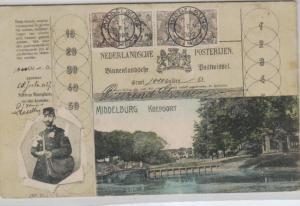 Middelburg......alte Karte     (ka8107  ) siehe scan