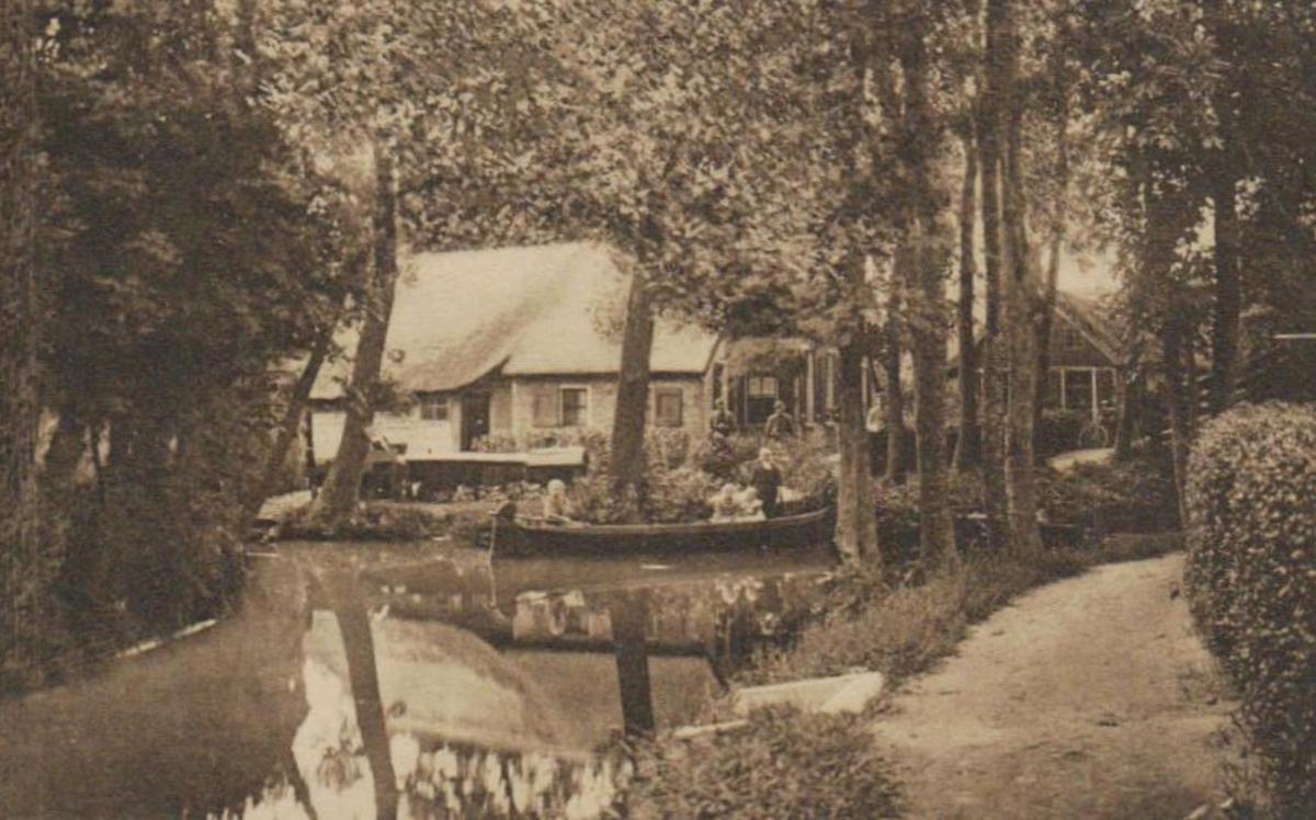 Giethoorn Karte.Giethoorn Alte Karte Ka9521 Siehe Scan