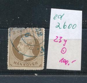 Hannover  Nr.  23y  o (ed2600  ) siehe scan