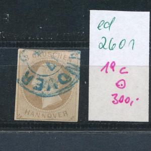 Hannover  Nr.  19c   o (ed2601  ) siehe scan