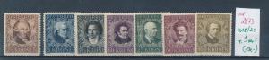 Österreich  Nr. 418-24  * -kleiner Falzrest    (ed2873  ) siehe scan