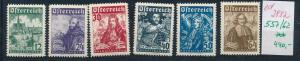 Österreich  Nr.  557-62  **   (ed2882  ) siehe scan