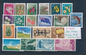 Neuseeland Lot  4 kleine Werte leichte Fehler  (oo7448  ) siehe scan