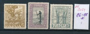 Papua Nr. 86-88 *    (ed3151  ) siehe scan