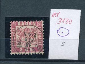 Baden -netter Stempel     (ed3130  ) siehe scan