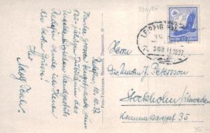 DR.-   alte Karte  in das Ausland    (ka6609  ) siehe scan