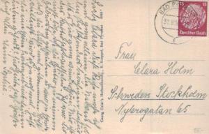 DR.-   alte Karte  in das Ausland    (ka6611  ) siehe scan