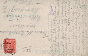 DR.-   alte Karte  in das Ausland    (ka6641  ) siehe scan