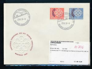 Schweiz FDC  681-2  (oo7516  ) siehe scan