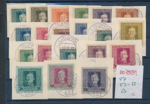 Österreich Feld Post 53-72  o   (oo7551  ) siehe scan