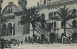 Algerien -alte Karte  (ka9035 ) siehe Bild