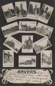 Anvers -alte Karte  (ka8991  ) siehe Bild
