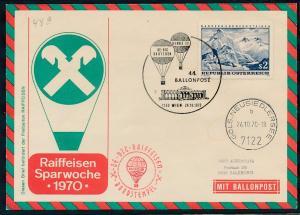 Österreich -Ballonpost..    ( oo7605  ) siehe scan