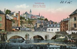 Luxemburg..........alte Karte   (ke 521  ) siehe scan
