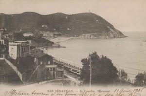 San Sebastian .......alte Karte   (ke 503  ) siehe scan